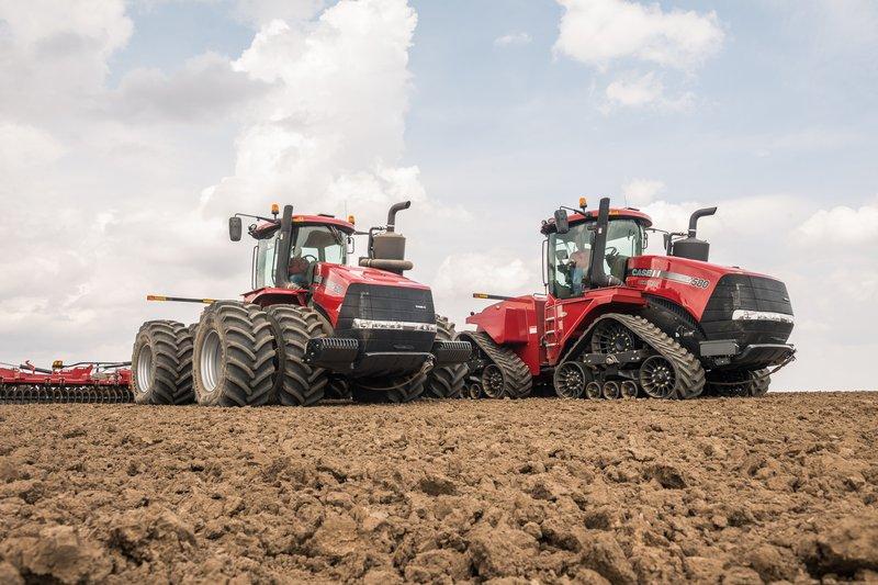 big sale f2ca2 67a94 Case IH Steiger Quadtrac 620 Tractor Sets New Performance Records ...