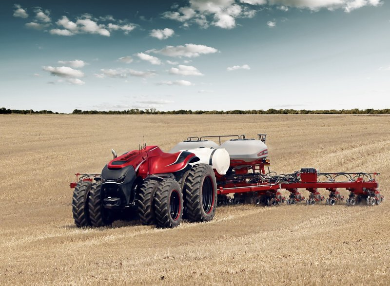 autonomous tractor from Case IH